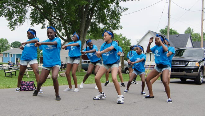 Hundreds attended the annual Summer Celebration parade on Saturday, June 6. The parade, organized by the Indiana Black Expo, went from the Fieldhouse to Heekin Park.