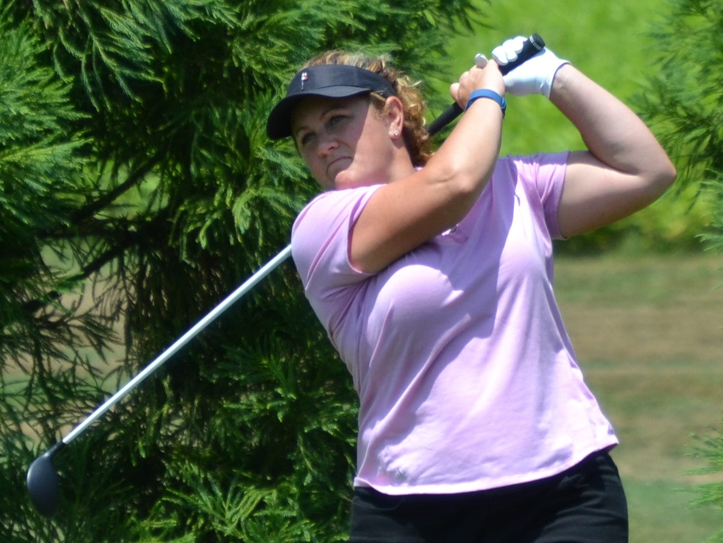 Becky McDaid shot back-to-back 72s at Willow Ridge Country Club to capture a third Lincoln Women's Met Open title on Tuesday.