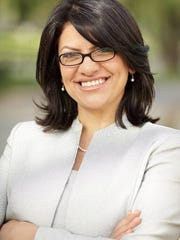 Michigan State Representative Rashida H. Tlaib (D-Detroit). Picture received from her official website May 6, 2014