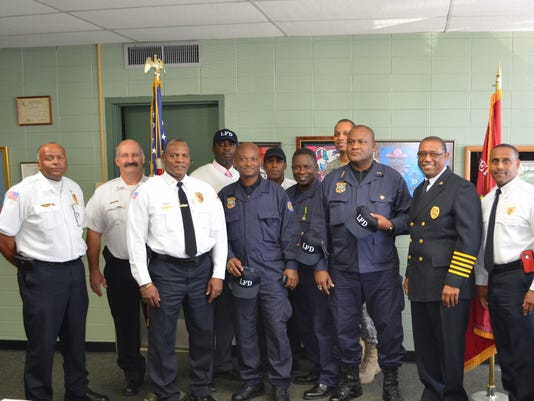 635574619279816057-Haitian-Firefighters-Visits-Lafayette-Fire-Department
