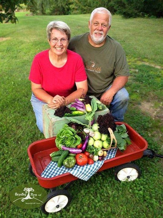 Gary and Caryl Watterson of BrynTeg Farm