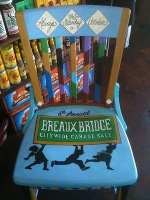 The annual Breaux Bridge Citywide Garage sale kicks off Saturday morning.
