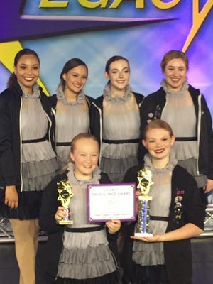 A team of teen girls from Jessica's School of Dance in Sheboygan took first in a national competition.