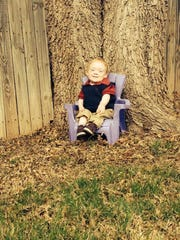 Brenden Baker sits in a chair in a picture posted to Facebook by his mother, Kim Baker, after Brenden passed away Monday morning in Fort Worth. Brenden, 15, was a Miracle Child for the Children's Miracle Network. He was part of the network, serving as an ambassador, while living with a rare form of dwarfism.
