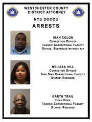 Three corrections employees have been arrested.
