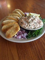 Salmon Rillettes from The Irish Rover.