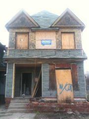 The McGee-Coffey house before renovation.