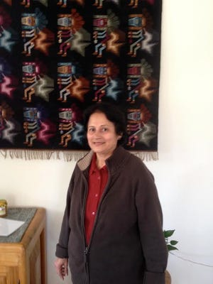 Renu Jagasia, of East Brunswick, participated in a Gardening Volunteer Vacation sponsored by The Tandana Foundation.