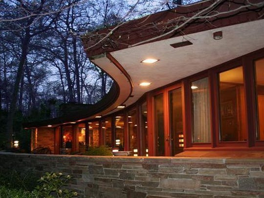 The only Frank Lloyd Wright home in Delaware, named