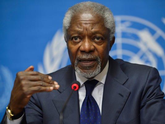 Kofi Annan Profile Image