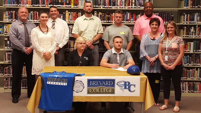 North Buncombe senior Colby Maltry has signed to play basketball for Brevard College.
