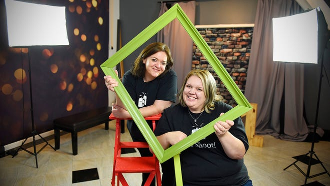 Everyday People Studio owners Krisie Barron and Danna Mokamba rent studio space to anyone who wants to shoot photos. They supply the studios, backgrounds and props for photographers to shoot portraits and event sessions.
