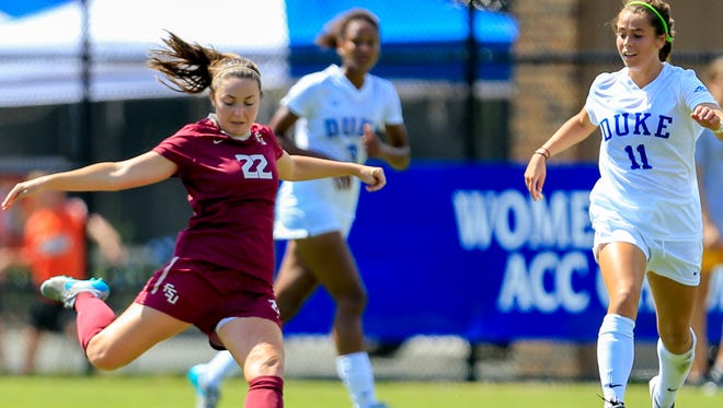 Kirsten Crowley and FSU defeated Duke 2-1 in Penalty Kicks in the ACC Quarterfinals.