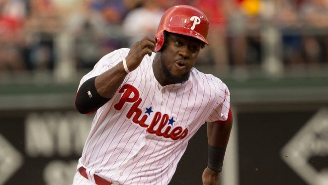Phillies center fielder Odubel Herrera has signed a five-year deal with the club.