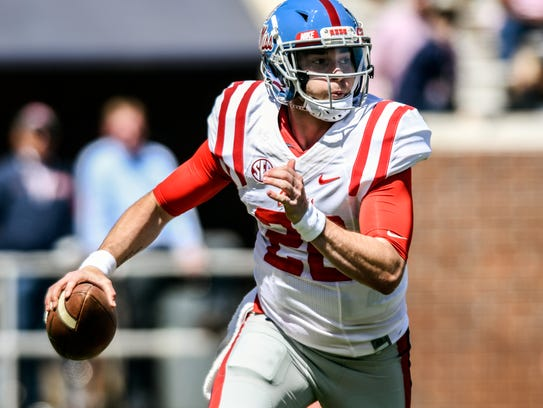 Shea Patterson is one of Ole Miss' three player representatives,
