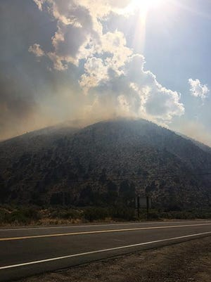 The Slinkard Fire grew to 5,000 acres as of Thursday afternoon.