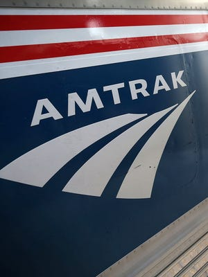 An Amtrak train is shown in this file photo.