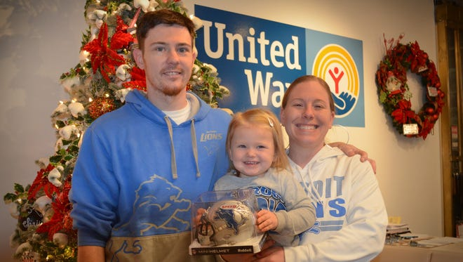 Westland resident Ryan Walker, pictured with his family, is the first winner in the United Way for Southeastern Michigan's 2016 Triple Sweepstakes.