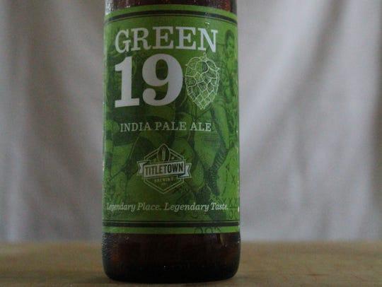 Green 19 IPA, American IPA, Titletown Brewing