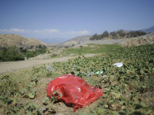 Trash left behind at Slick Rock has been a historic issue for those managing Lake Kaweah.