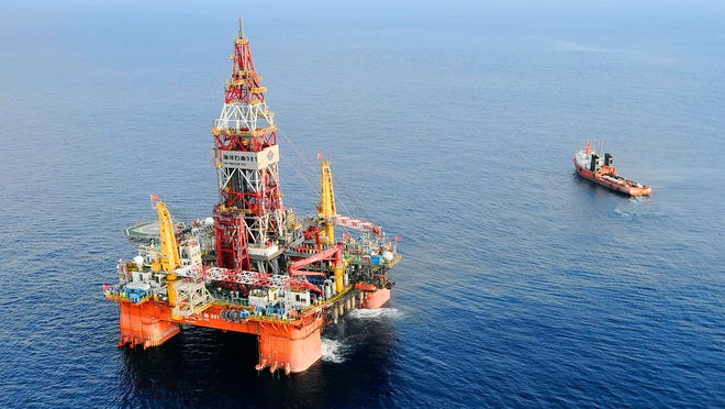 Conflict continues over offshore drilling rigs.