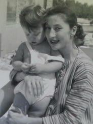 Tasha Ingram (now Erica Courtney) with her mother Helyn