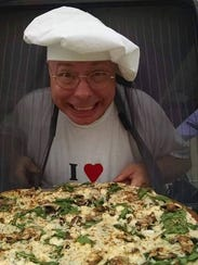 Chuck Baldee, owner of Chef Baldee's Pizza food truck,