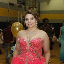 NEHS had about 140 couples walk the red carpet in front of friends and family before boarding buses which took them to the Opryland Hotel for Prom 2016.