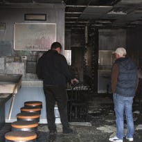 Fire damages downtown Howell restaurant