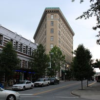 Asheville's historic Flatiron Building up for sale for $16 million