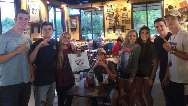 Children socialize at Zaxby's in Hendersonville on Sept. 26 to help raise $10,000 for ADA-accessible playgrounds at Station Camp High in Gallatin and Dr. William Burrus Elementary at Drakes Creek in Hendersonville.