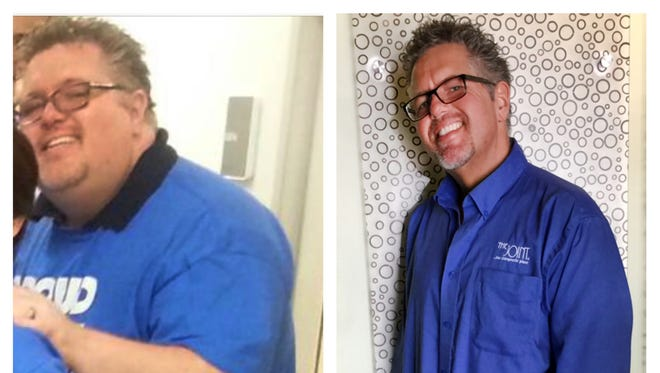 Hendersonville chiropractor Ryan Footit weighted 330 pounds before he lost 165 pounds in 345 days.