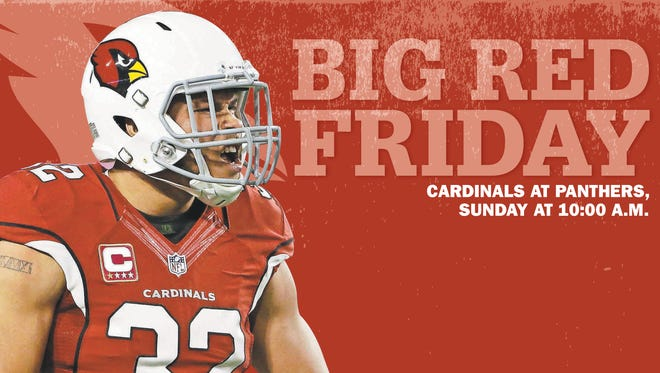 Tyrann Mathieu on this week's Big Red Friday cover.