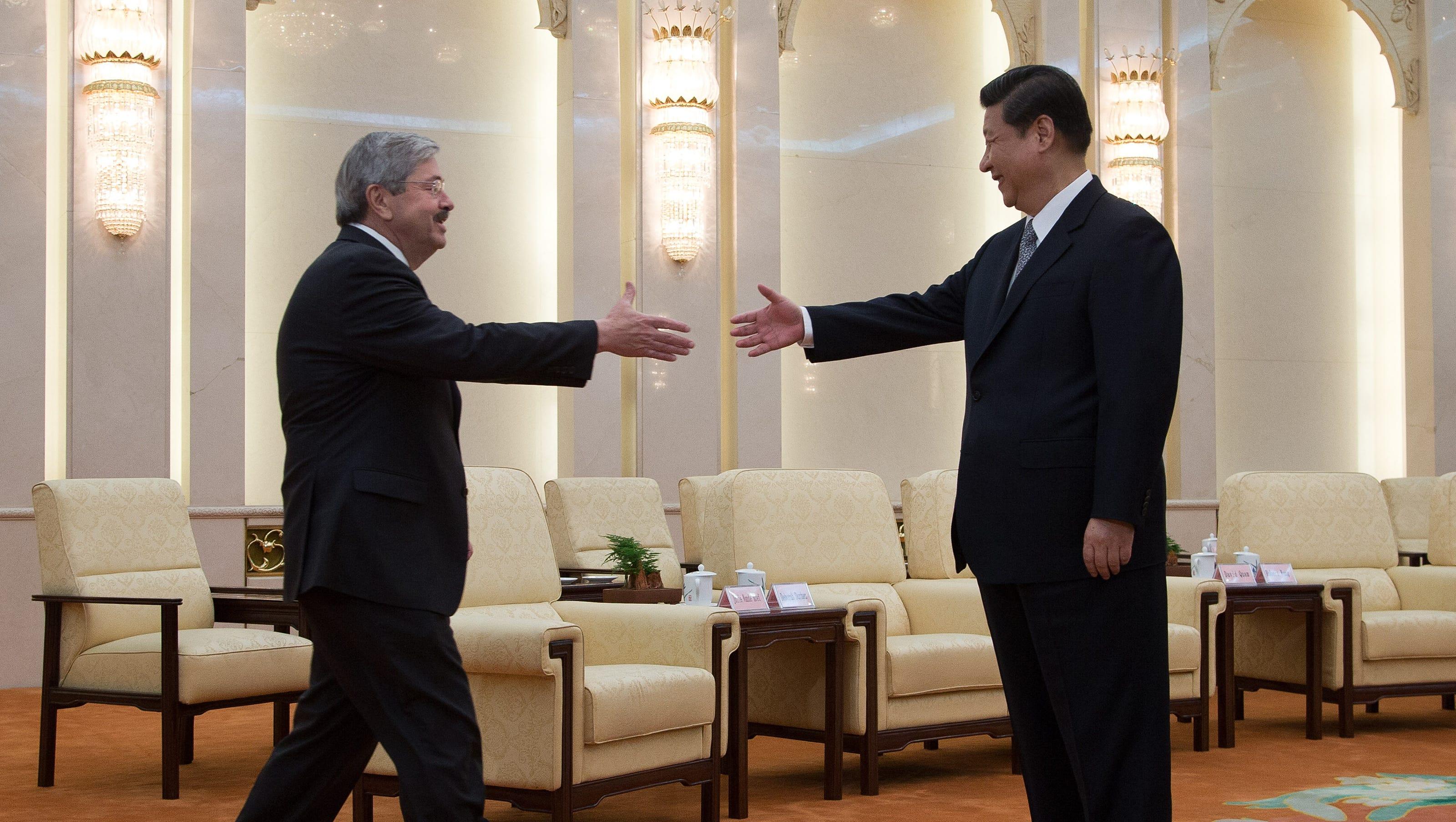 Trump, Branstad must prepare for showdown with China