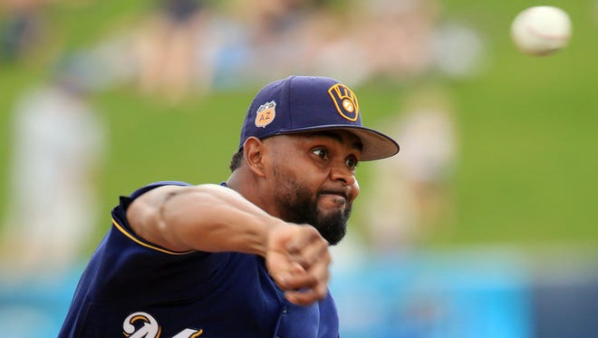 Brewers pitcher Jhan Mariñez has made the opening-day roster.
