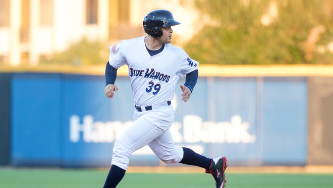 Cincinnati Reds catcher Devin Mesoraco, who is with Blue Wahoos on injury rehab assignment, drove in go-ahead run Monday night in Pensacola's 3-2 win to take opening series against Tennessee Smokies. Mesoraco will remain with Blue Wahoos most of this month.