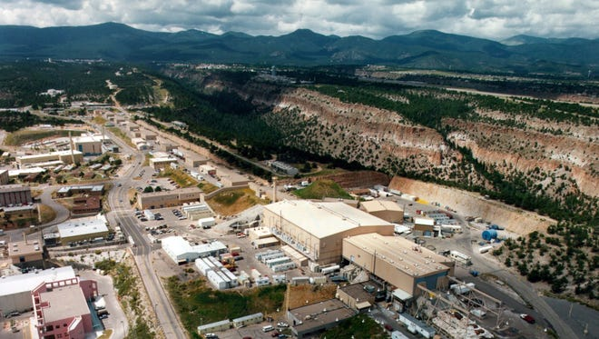 The National Nuclear Security Administration decided in early 2017 not to grant an extension of Los Alamos National Security's contract to run the Los Alamos National Laboratory, seen here from the air in 2015. It is located about 50 miles northeast of Albuquerque.