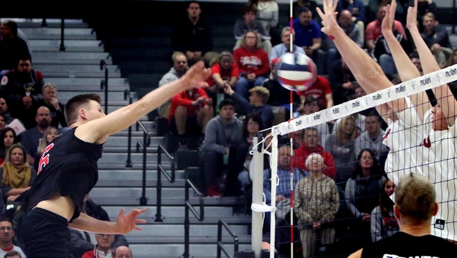 Muskego's Mitch Geiger (left) is a returning all-state selection.