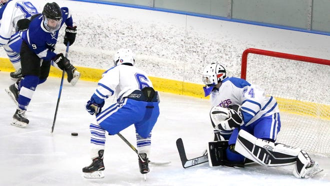 Chad Larsen (left) is the leading scorer for Waukesha, which is making  its third straight state tournament appearance.