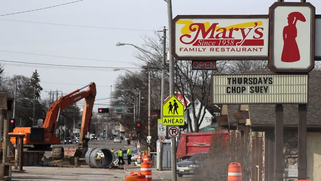 Road construction isn't the reason Mary's Family Restaurant on Oneida Street is closing. It's staffing.