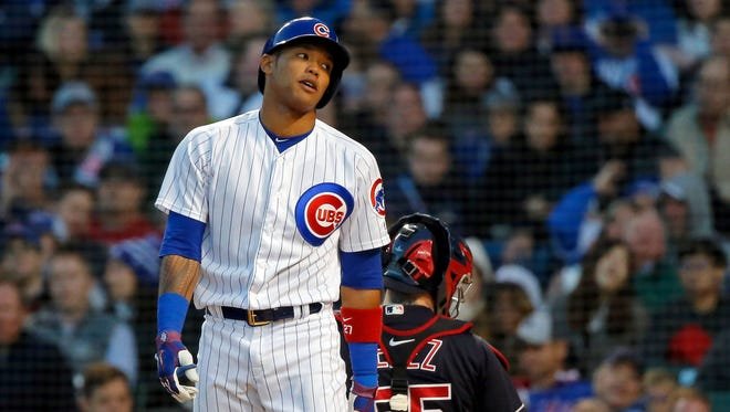 Addison Russell's future with the Chicago Cubs is now in jeopardy after Major League Baseball extended his administrative leave through the end of the regular season on Sunday.