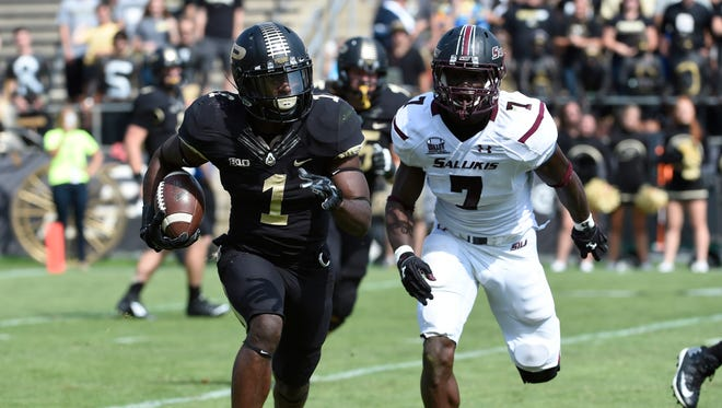 Boilermakers RB Akeem Hunt has amassed 532 total yards in his last four games.