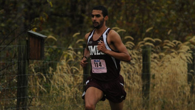 Khalil Rmidi Kinini already holds six UMES records as just a sophomore.