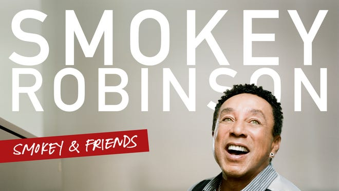 "The CD cover image for ""Smokey & Friends,"" by Smokey Robinson."