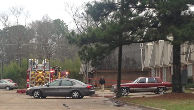 One person died in an apartment fire in Montgomery on Thursday.