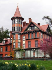 Wilderstein Historic Site is a 19th-century Queen-Anne-style country house on the Hudson River in Rhinebeck that was owned by the Suckley family. The annual Daffodil Tea is set for April 27.