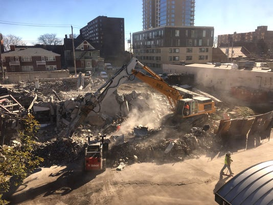 Farwell demolition