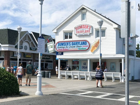 The building which houses Dumser's Dairyland located on the boardwalk in Ocean City, Md. has been recently involved in a lawsuit filed in Worcester County Circuit Court. Friday, August 11, 2017.