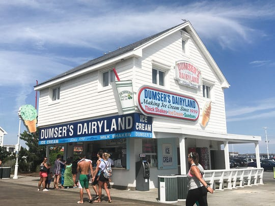 Dumser's Dairyland is a staple on the Ocean City Boardwalk.