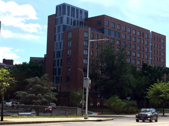 The Prelude building, the first new apartment tower in the former Winbrook (now Brookfield Commons) public housing campus in White Plains.